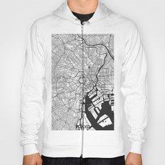 Tokyo Map Gray Hoody
