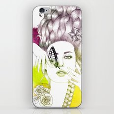 Butterfly Lady iPhone & iPod Skin