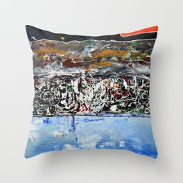 Mediterraneo Throw Pillow