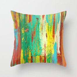 All That We See by Nadia J Art Throw Pillow