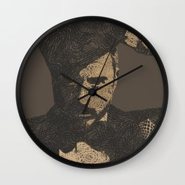 Mystery Unraveled  Wall Clock