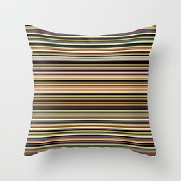 Old Skool Stripes - The Dark Side - Horizontal Throw Pillow