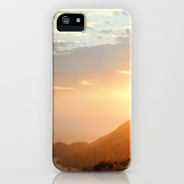 Sunset at Marin Headlands iPhone Case