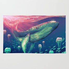 Life of Pi whale Rug