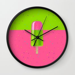 Ice Stick Party Wall Clock