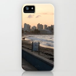 Sunset in San Juan iPhone Case
