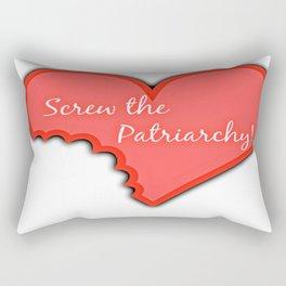 Screw The Patriarchy Rectangular Pillow