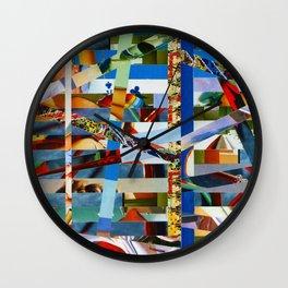 Michael (stripes 9) Wall Clock