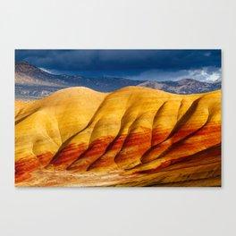 Vivid Hills Canvas Print