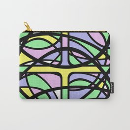 Community III - Abstract, pastel pattern Carry-All Pouch