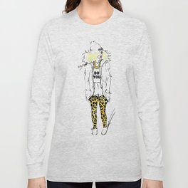 #STUKGIRL Estephanie Long Sleeve T-shirt