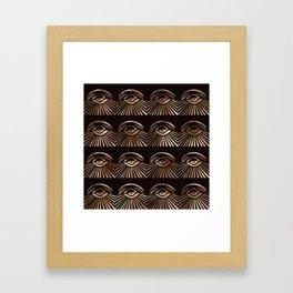 The Eyes of Manon Framed Art Print