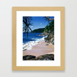 Cinnamon Bay Framed Art Print