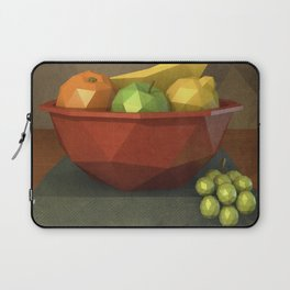 Low-polygon style still life painting Laptop Sleeve