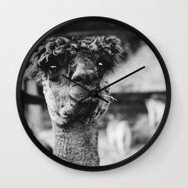 Dog by Karly Jones Wall Clock