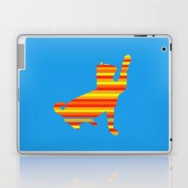 Cat Stripes Laptop & iPad Skin