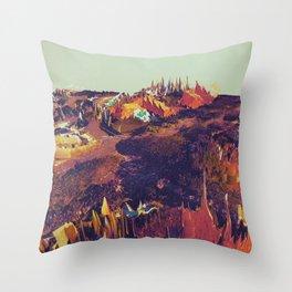 SBRBÏA Throw Pillow