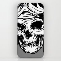 kindle iPhone & iPod Skins featuring 102 by ALLSKULL.NET
