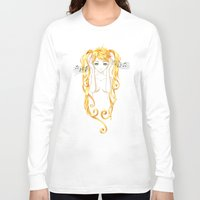 music Long Sleeve T-shirts featuring Music by Freeminds