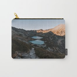 Mountain Ponds - Landscape and Nature Photography Carry-All Pouch