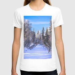 Frozen river T-shirt