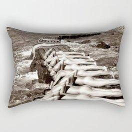 Water Boys Rectangular Pillow
