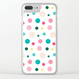 bubble summer party Clear iPhone Case
