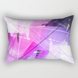 Replica - Geometric Abstract Art Rectangular Pillow