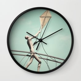 Kite Flyer Wall Clock
