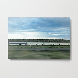 Train' Day Metal Print