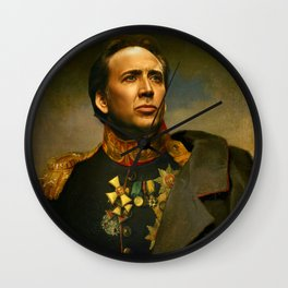 Nicolas Cage Wall Clock