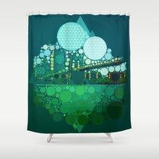 BK Bridge Shower Curtain