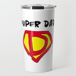 Super Hero Dad Travel Mug