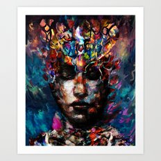 fractured but whole Art Print