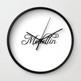 Medellin Wall Clock