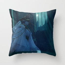 Dark Souls - Dark Sun Gwyndolin Throw Pillow