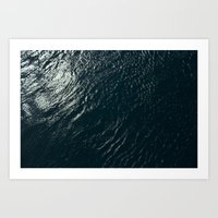 WATERS Art Print