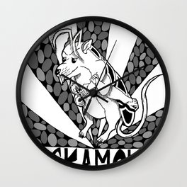 The Cockamouse Wall Clock