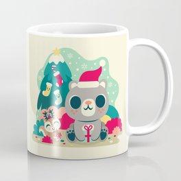 Holiday Woodland Bear / Cute Animal Coffee Mug