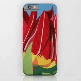 Red & Yellow Tulips iPhone Case
