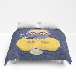 Blue Beard Comforters