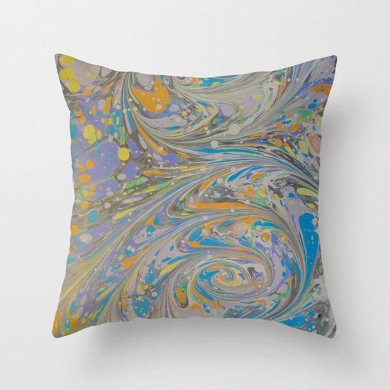 Marble Print #16 Throw Pillow