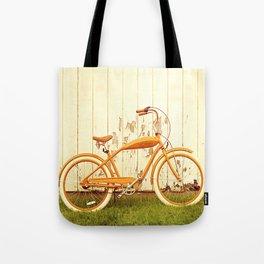 Orange Ride Tote Bag