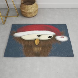 Sam the Festive Owl Rug