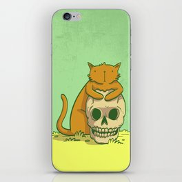 Kitty Hugs iPhone Skin