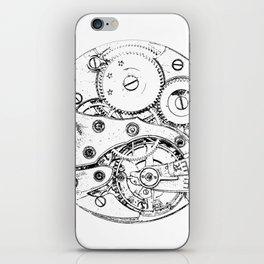 Clockwork mechanism iPhone Skin