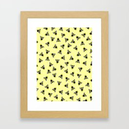 Scatterbees Framed Art Print