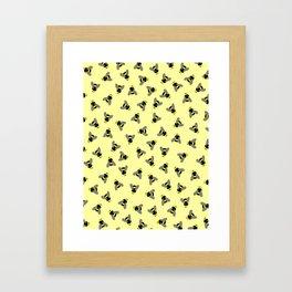 Scatterbees Framed Art Print