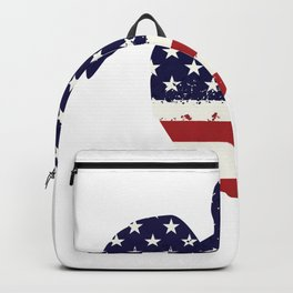Turtle Funny 4th Of July For Kids Women Men Backpack