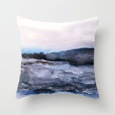 layers of colour 2 Throw Pillow